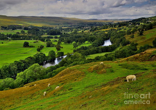 Photograph - English Dales Landscape by Martyn Arnold