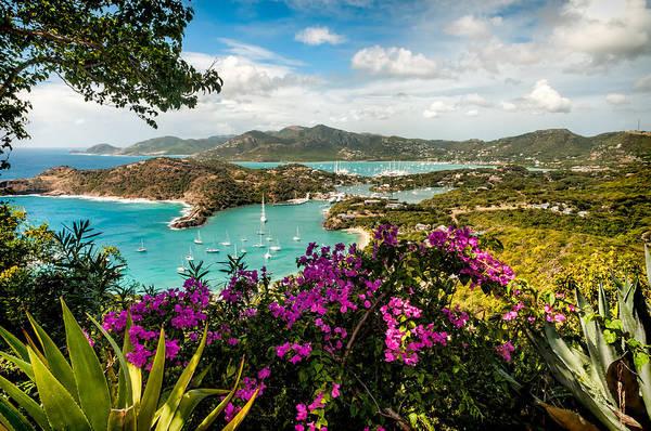 Shirleys Bay Photograph - English Harbour Antigua by Sharon Eisenzopf