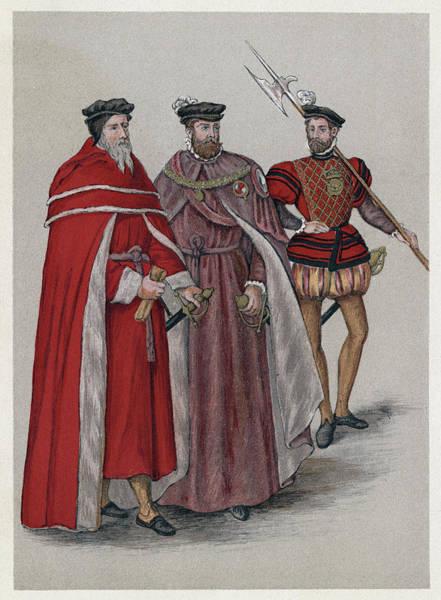 Wall Art - Painting - Englishmen, 16th Century by Granger