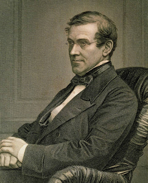 Sir Photograph - Engraving Of Charles Wheatstone by Sheila Terry/science Photo Library