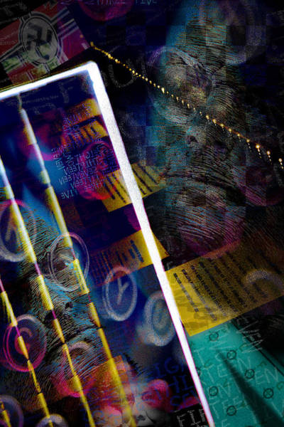 Code Breaker Wall Art - Photograph - Enigma by Richard Piper