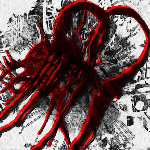 Heartbroken Digital Art - Enigma Series No 2 by Elizabeth Austin-Craig