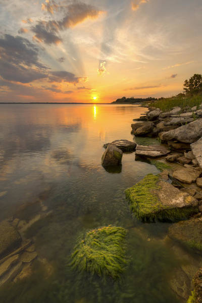 Milford Photograph - Enjoying Sunset by Scott Bean