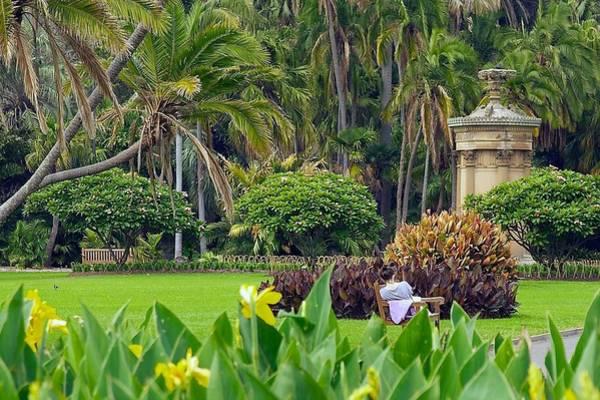 Photograph - Enjoying The Royal Botanic Garden by Stuart Litoff