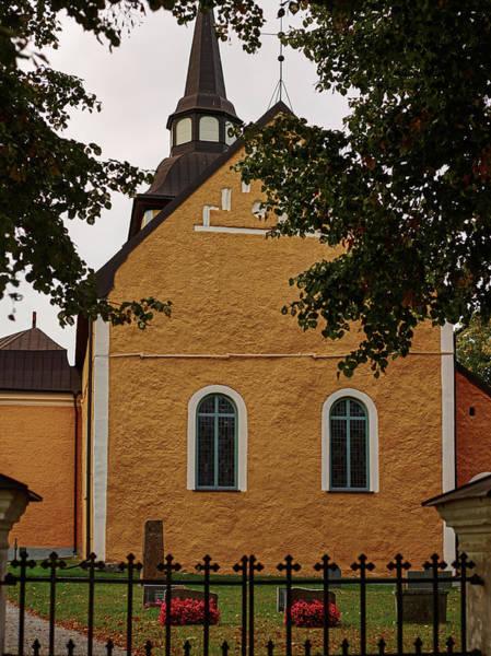 enkoepingsnaes church from east Db Art Print