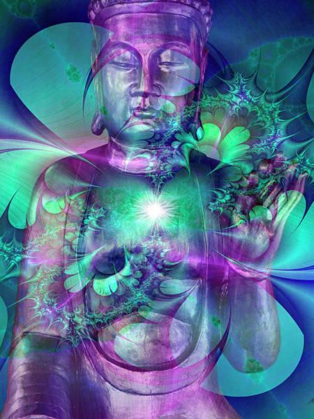 Digital Image Digital Art - Enlightenment by Images Etc Ltd