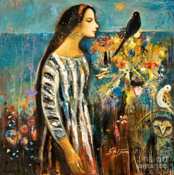Painting - Enlightenment by Shijun Munns