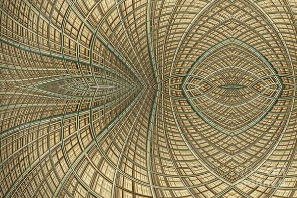 Web Digital Art - Enmeshed by John Edwards