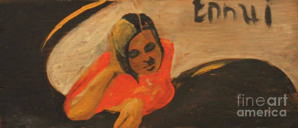 Painting - Ennui 1939 by Art By Tolpo Collection
