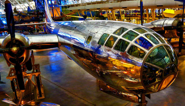 Smithsonian Photograph - Enola Gay by Mitch Cat