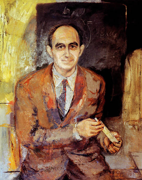 Nobel Prize Winners Wall Art - Photograph - Enrico Fermi by American Institute Of Physics/science Photo Library