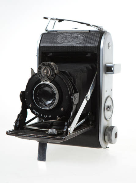 Photograph - Ensign 220 Folding Camera by Paul Cowan