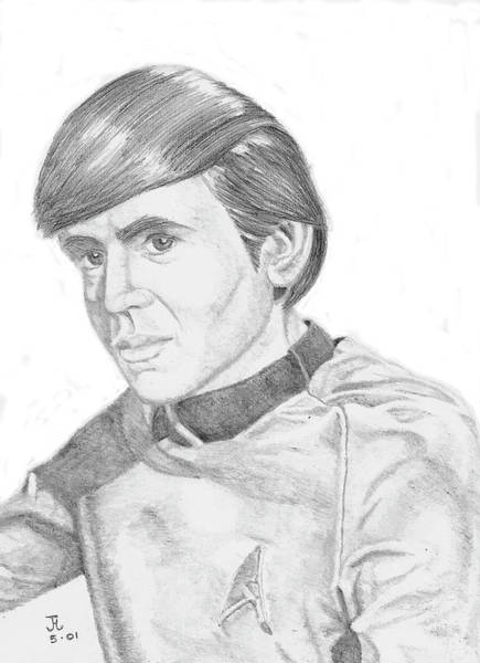 Digital Art - Ensign Pavel Chekov by Thomas J Herring