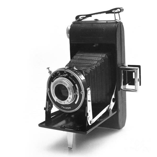 Shutter Speed Photograph - Ensign Selfix 420 by Paul Cowan