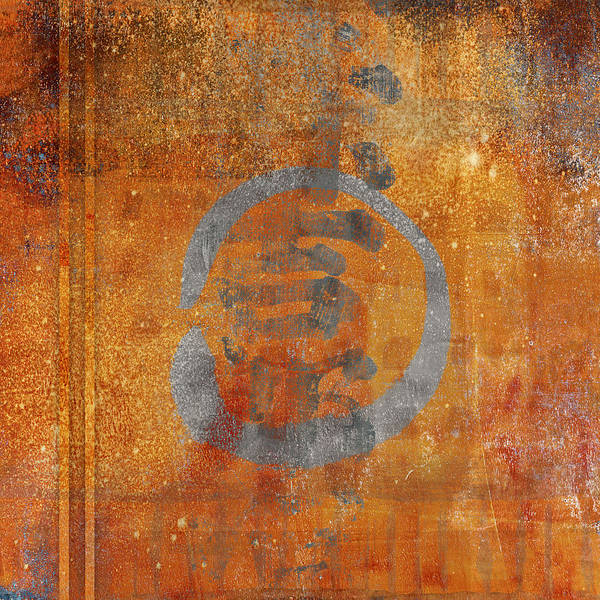 Wall Art - Photograph - Enso Circle by Carol Leigh