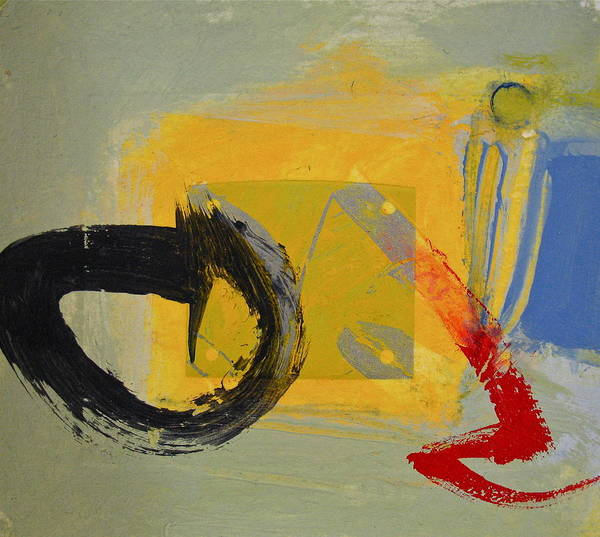 Painting - Enso Sun Block by Cliff Spohn
