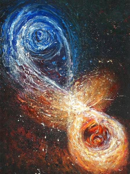 Potential Painting - Entanglement by Melinda DeMent