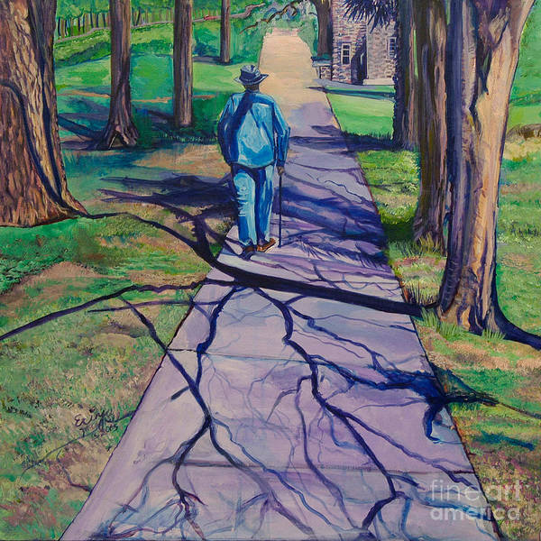 Entangled Painting - Entanglement On Highway 98' by Ecinja Art Works