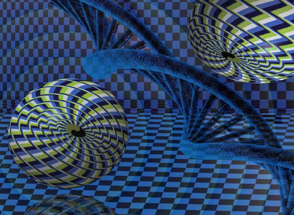 Digital Art - Entanglement by Vincent Autenrieb