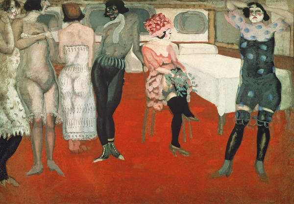 Vice Photograph - Enter!, 1913 Oil On Canvas by Boris Dmitrievich Grigoriev