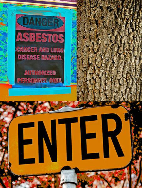 Photograph - Enter Danger Tree 2013 by James Warren