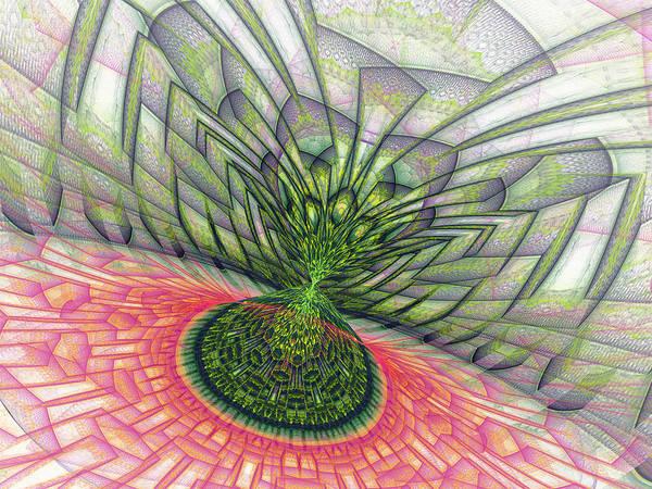Julian Digital Art - Enter The Julia by Virginia Fred