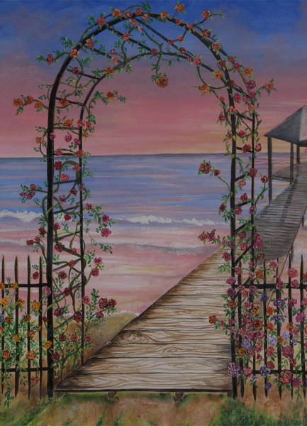 Painting - Enter by Virginia Bond