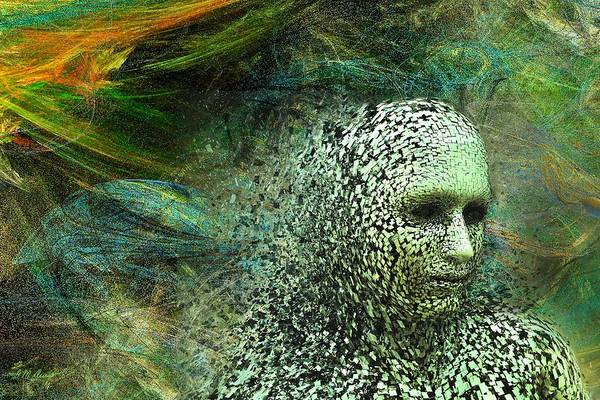 Entering A New Dimension Art Print