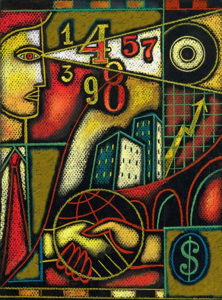 Dedication Painting - Enterprise by Leon Zernitsky