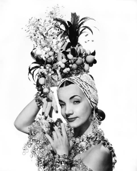 Carmen Wall Art - Photograph - Entertainer Carmen Miranda by Underwood Archives