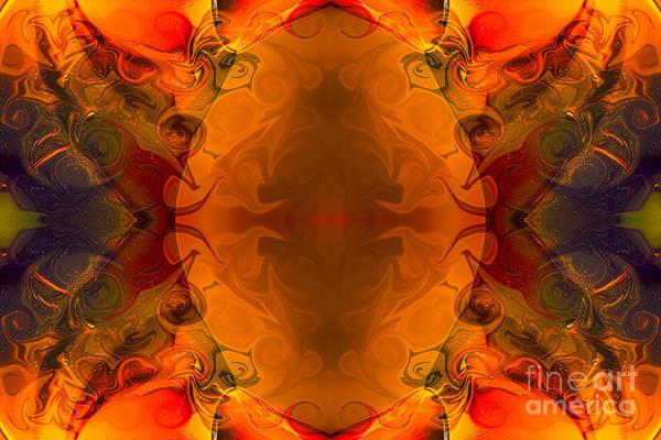 Digital Art - Entertaining Energy Abstract Pattern Artwork By Omaste Witkowski by Omaste Witkowski