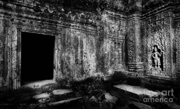 Photograph - Entrance At Ta Prohm by Julian Cook