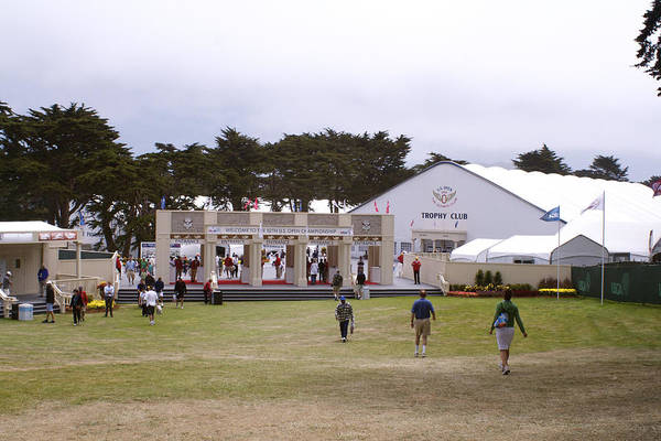 Olympic Club Photograph - Entrance At The 2012   12th Us Open  by DUG Harpster