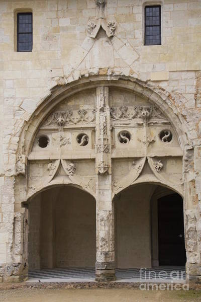 Fontevraud Photograph - Entrance Fontevraud Abbey- France by Christiane Schulze Art And Photography