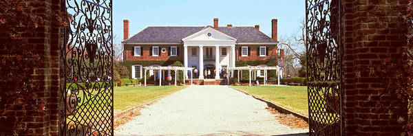 Pleasant Photograph - Entrance Gate Of A House, Boone Hall by Panoramic Images