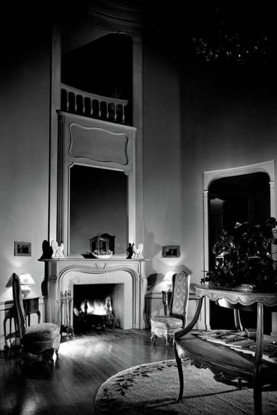 Glamour Photograph - Entrance Hall Of Joan Bennett And Walter Wagner's by Maynard Parker