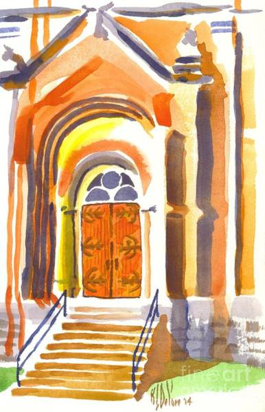 Painting - Entrance by Kip DeVore