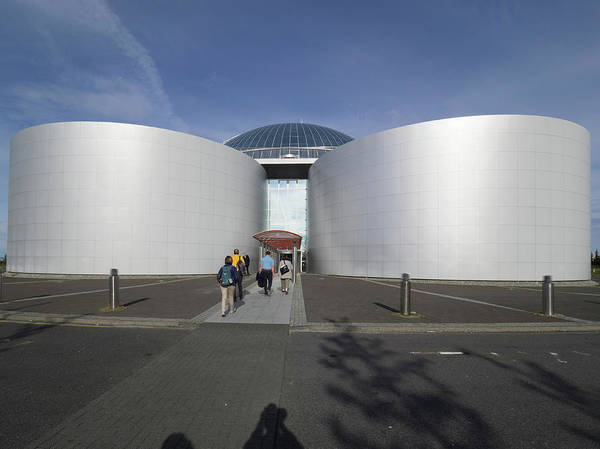 Boiler Photograph - Entrance Of Perlan Building Oskjuhlid by Panoramic Images