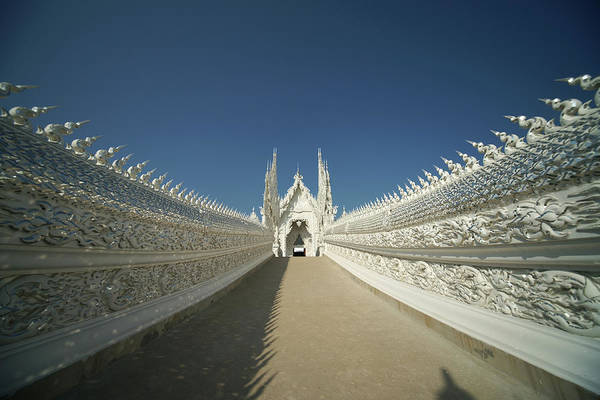 Chiang Mai Province Photograph - Entrance Of White Temple Chiang Rai by Dangdumrong