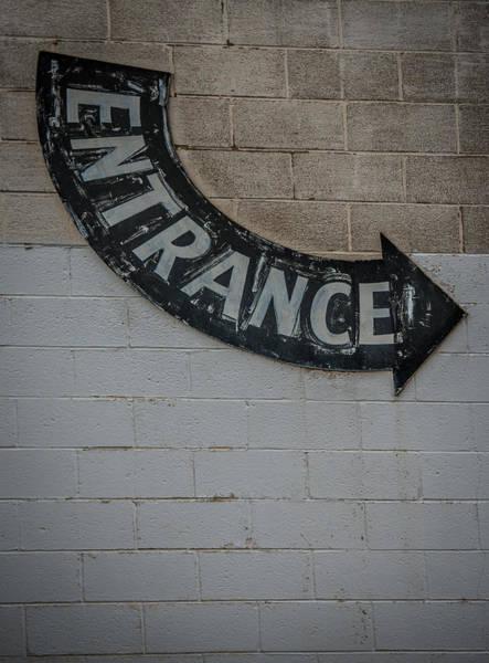 Wall Art - Photograph - Entrance Sign by Paul Freidlund
