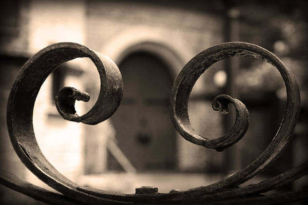 Photograph - Entrance Through The Gate by Kelly Hazel