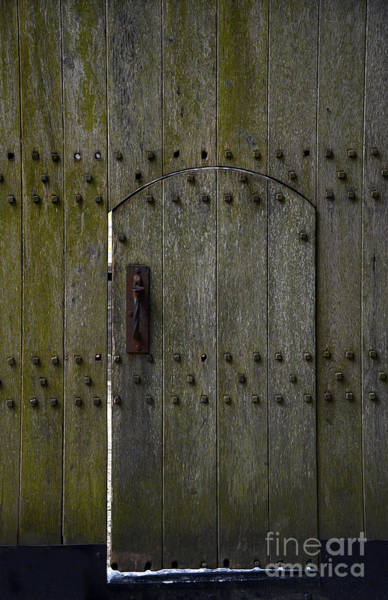 Rusty Chain Wall Art - Photograph - Entrance To Castle by Svetlana Sewell