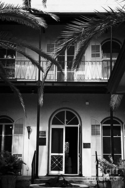 Wall Art - Photograph - Entrance To Ernest Hemingways House Key West Florida Usa by Joe Fox