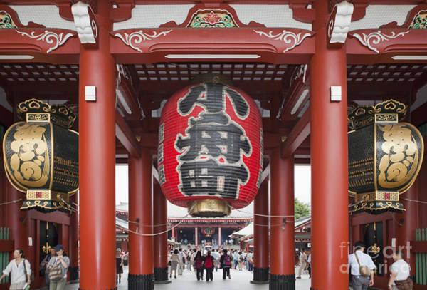 Photograph - Entrance To Senso-ji Temple by Bryan Mullennix