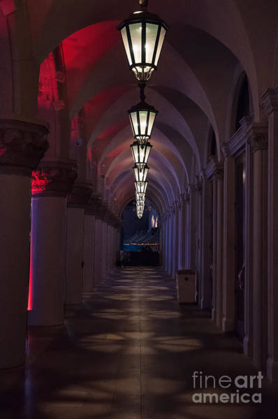 Photograph - Entrance To The Venetian Hotel And Casino by Eddie Yerkish