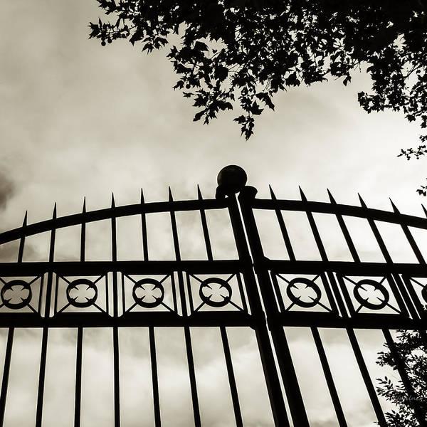 Photograph - Entrances To Exits - Gates by Steven Milner