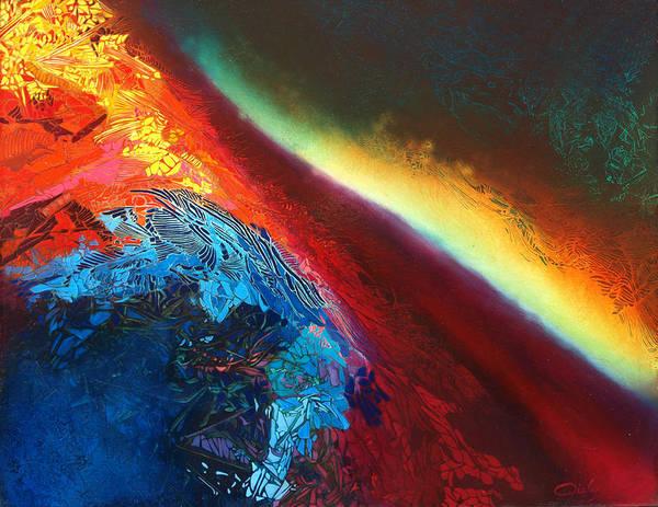 Painting - Entre Deux-mondes by Bielen Andre