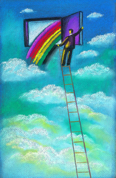 Aspiration Wall Art - Painting - Entrepreneur by Leon Zernitsky