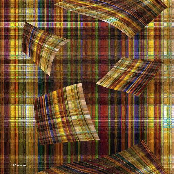 Painting - Entropy by RC DeWinter