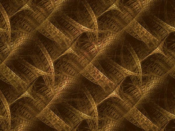 Crochet Digital Art - Entwined by Bong Bernardo
